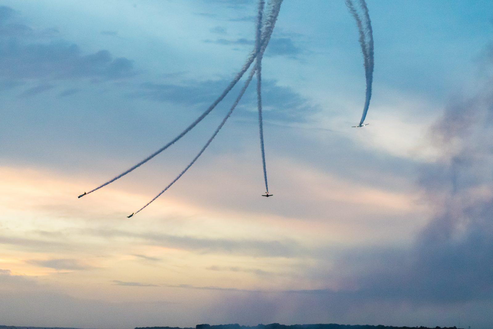 Aerial Choreography