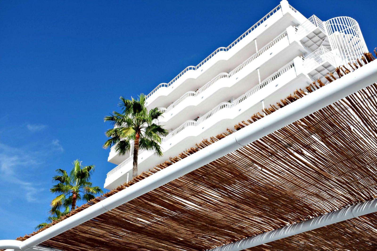 Beach White Building