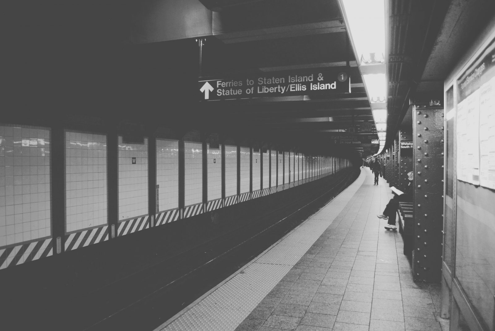 Waiting In The Subway