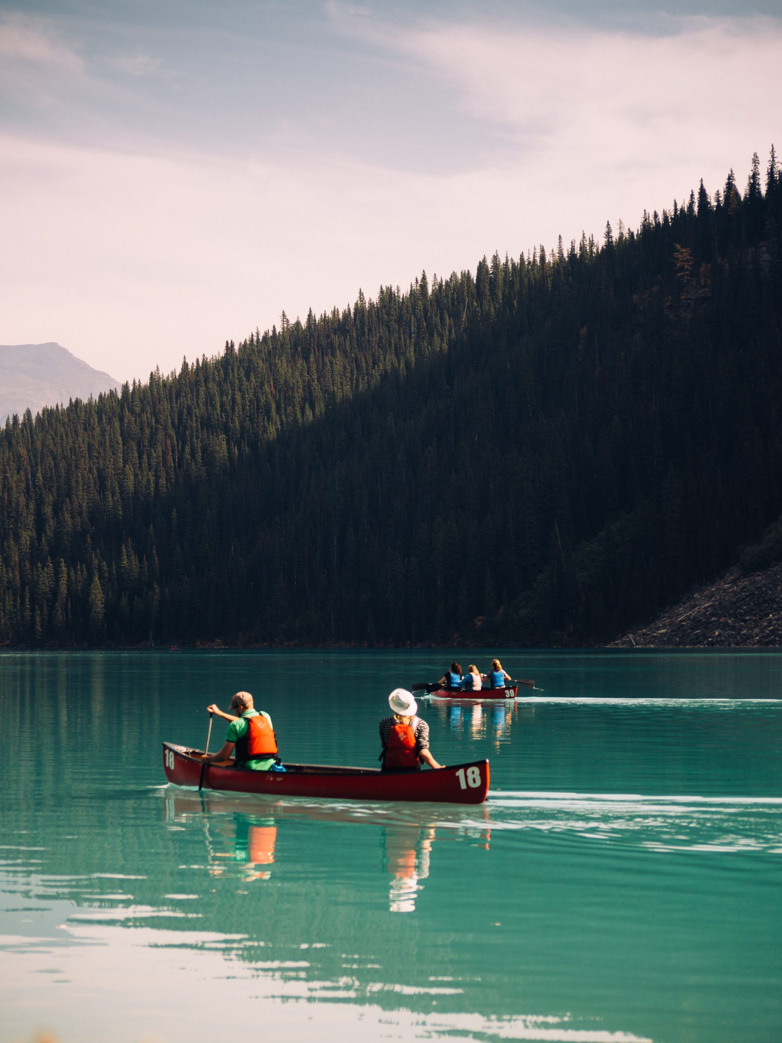 Canoeing into the Wild