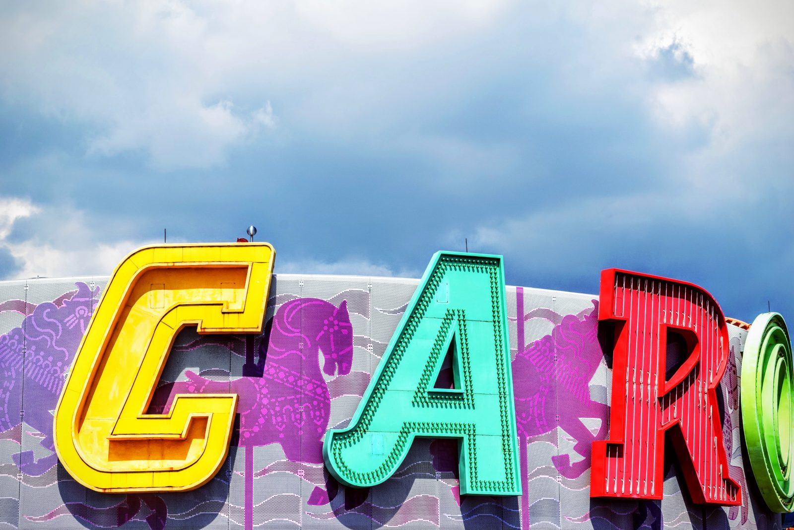 Big Colorful Letters