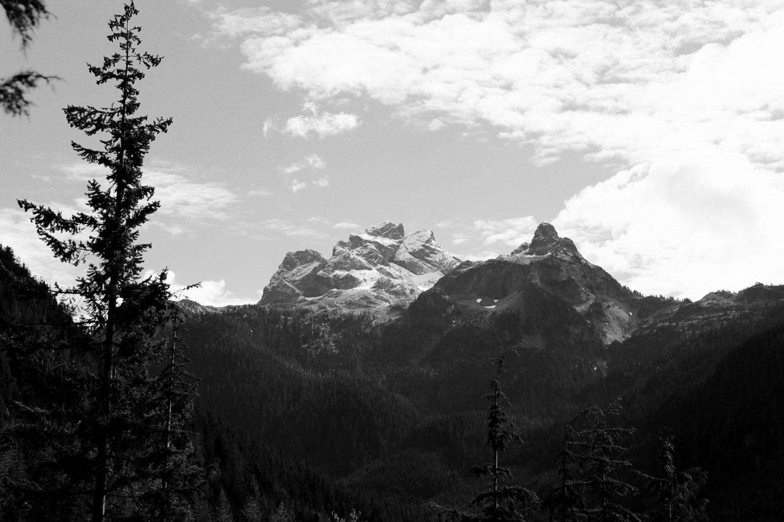 Black & White Mountains