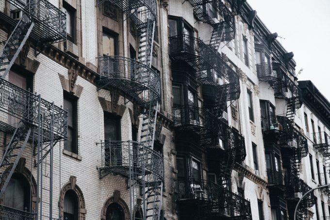 Rear Balconies