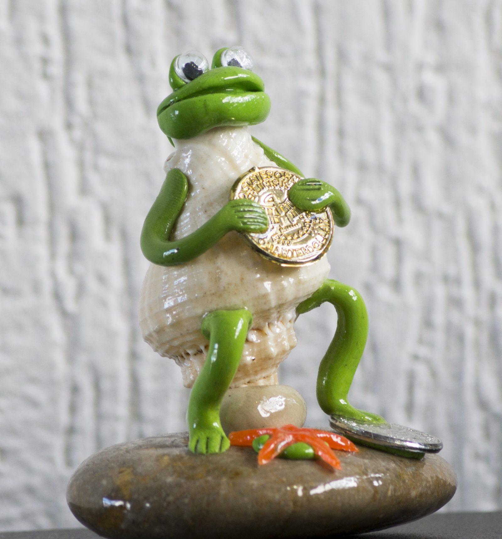 La rana de la suerte