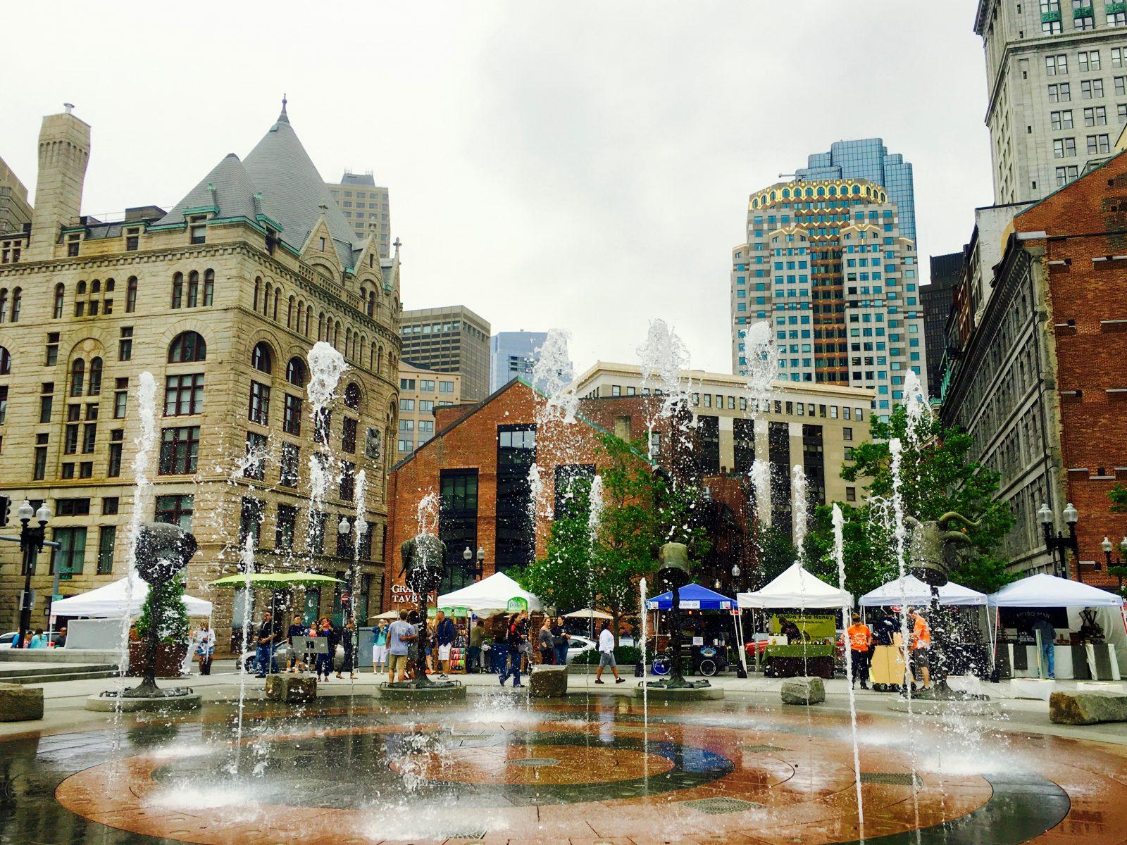 Boston Fountain