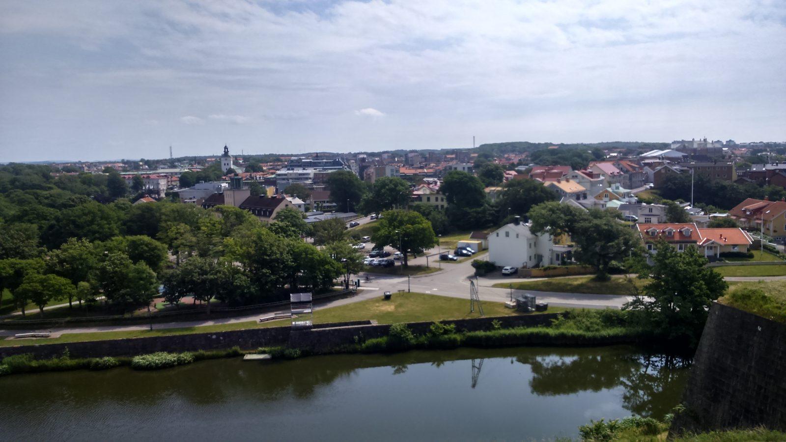 View From Varbergs Fästning