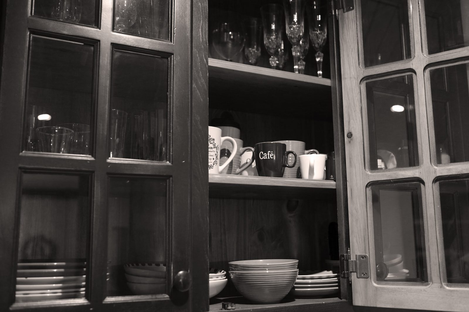 Welcoming Coffee Cabinet