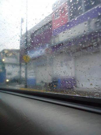 The life with rain.