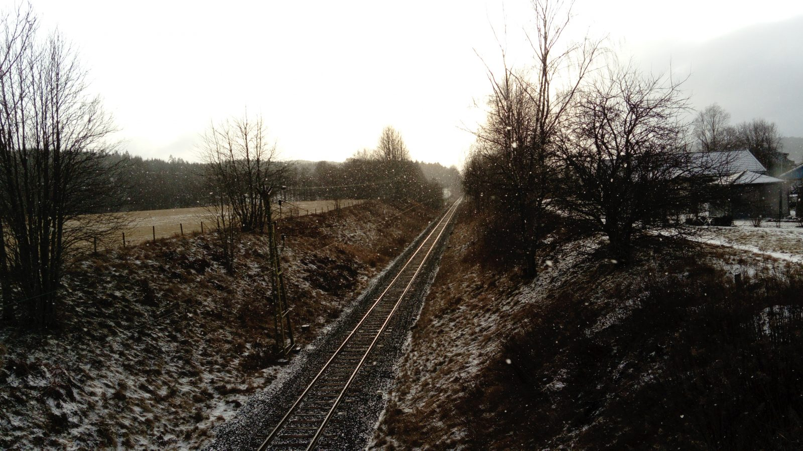 Railroad Snow