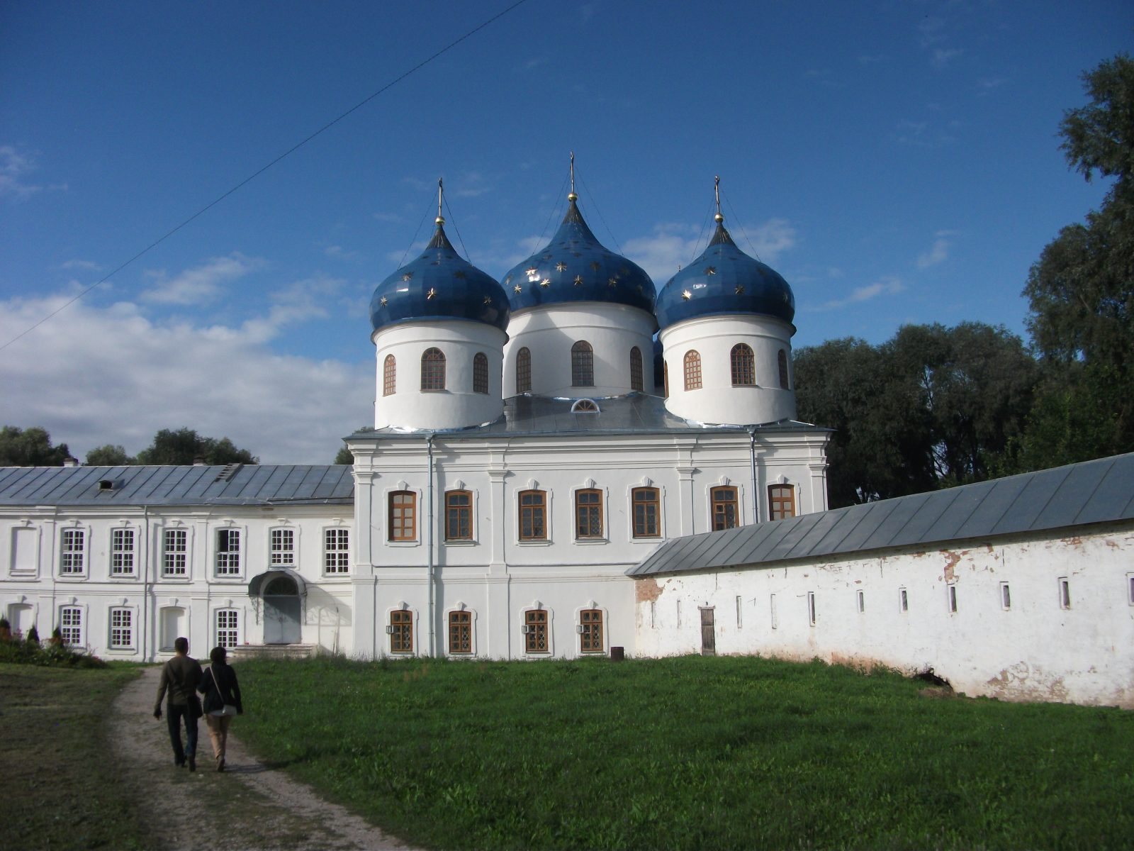 A Church in Novgorod, Russia
