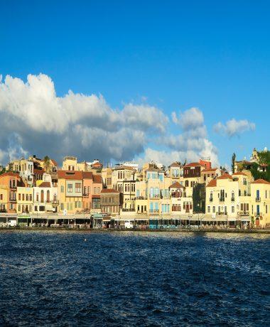 Houses near the sea