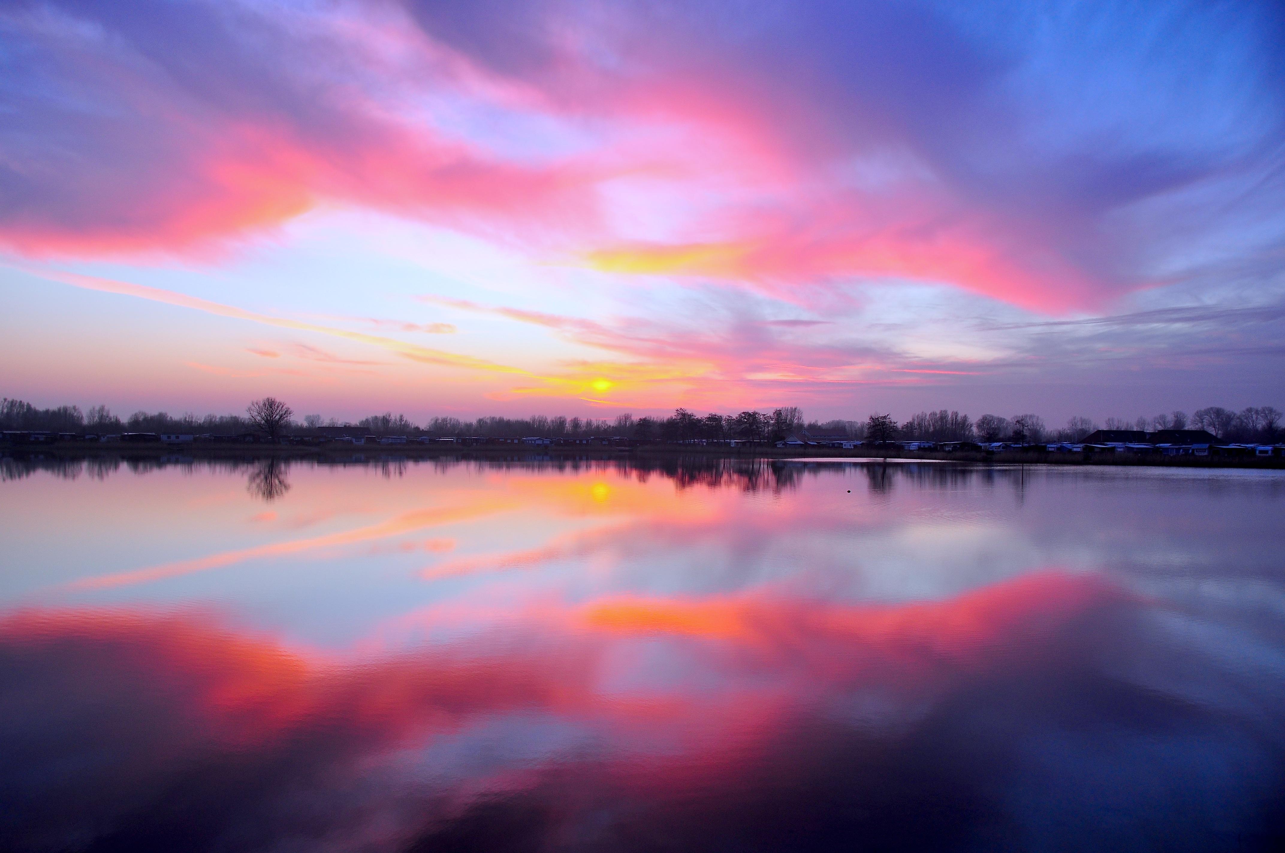 Sunset Reflection - Free Stock Photos | Life of Pix