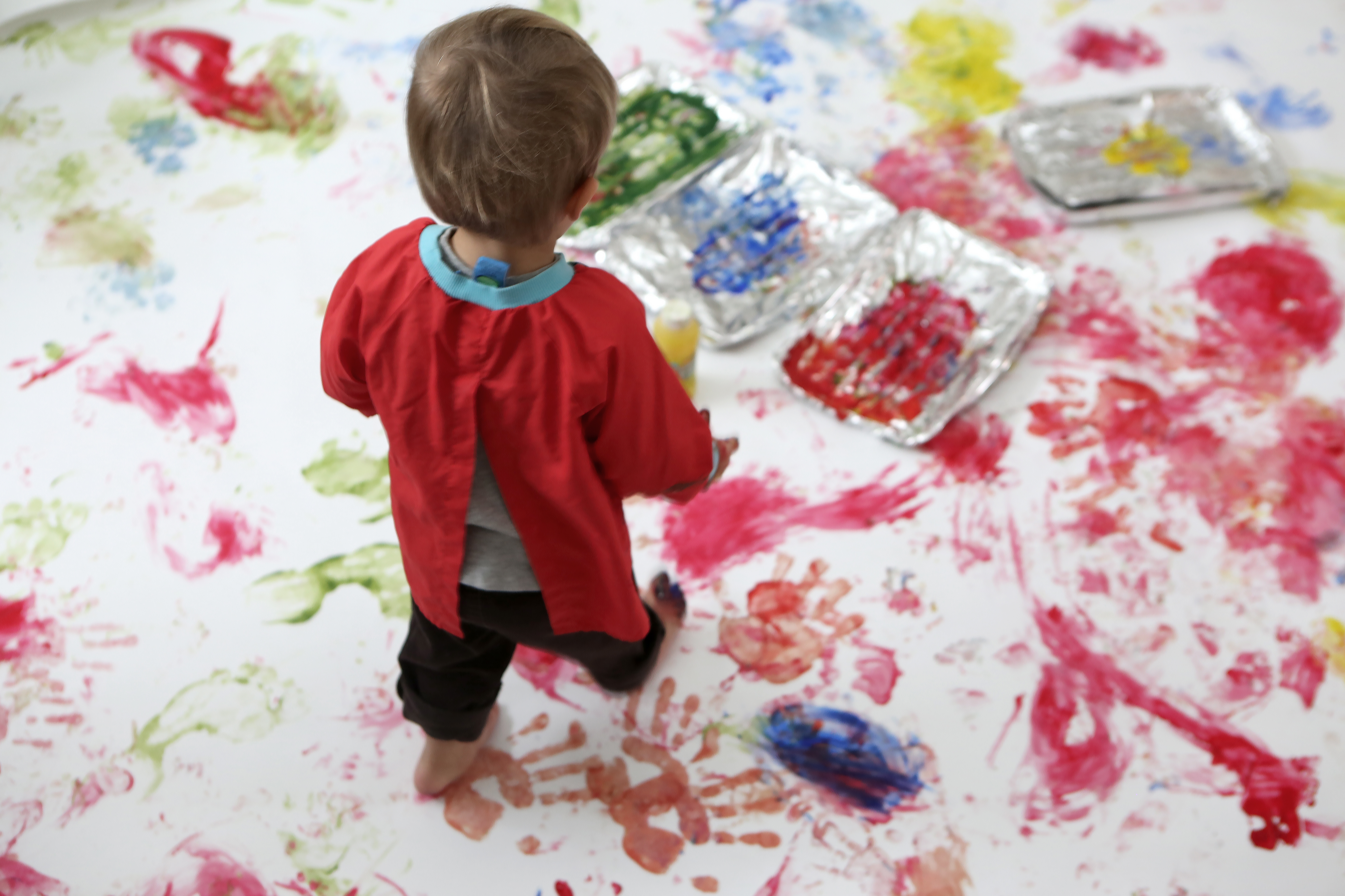 Kids Foot Hand Painting Free Stock Photos Life of Pix