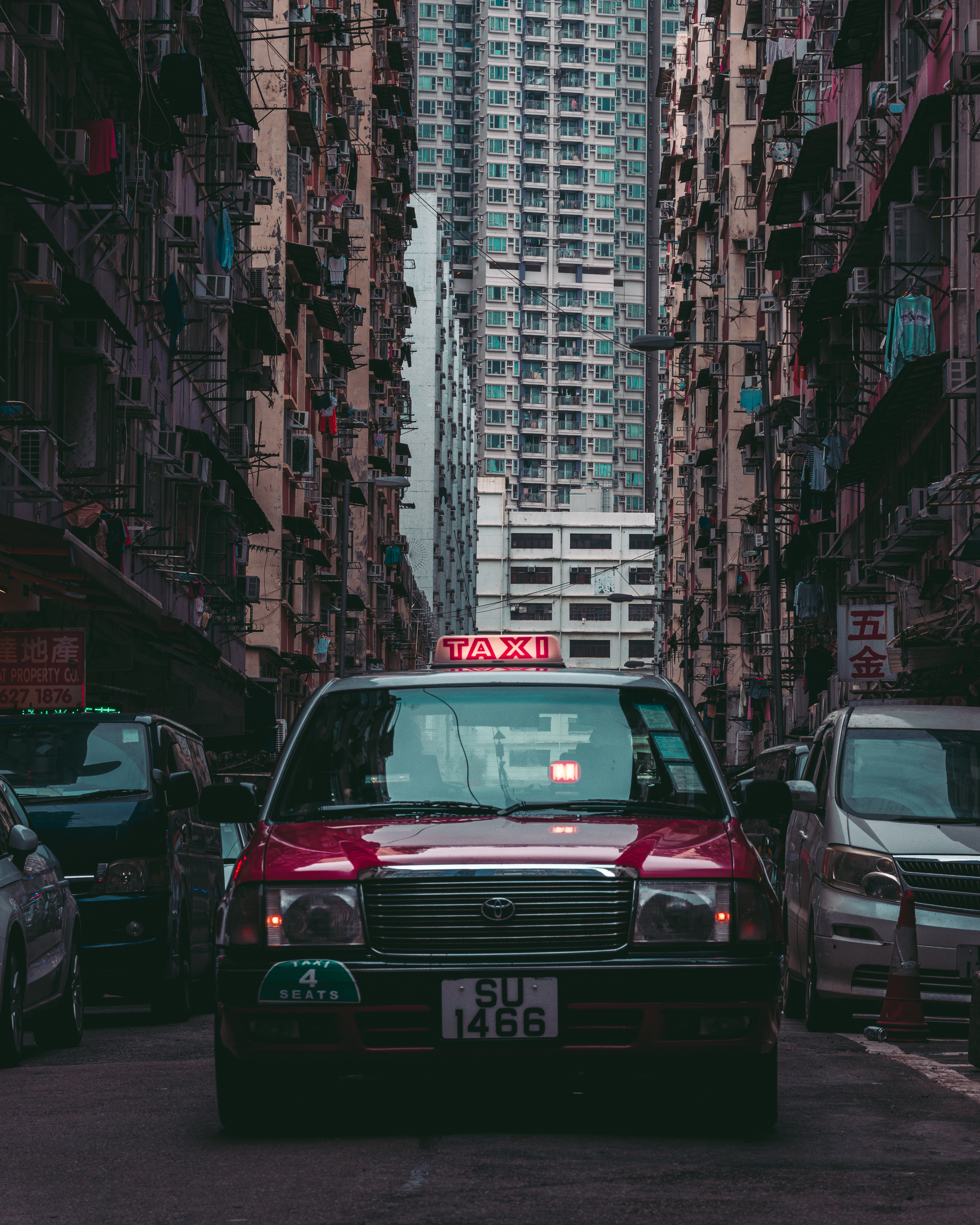 Buildings and Taxi